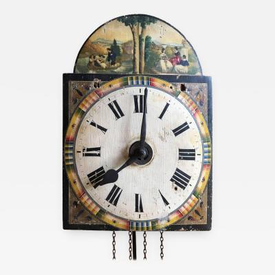 18th Century European Wall Clock