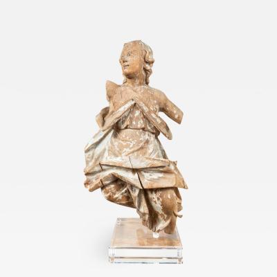 18th Century Figural Sculpture Fragment