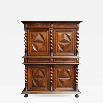 18th Century French Mulberry Cabinet