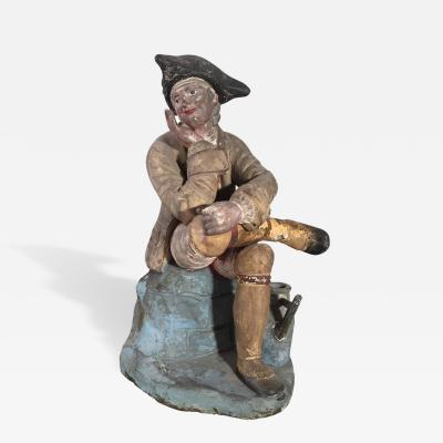 18th Century French Provincial Figurine of a Gardener