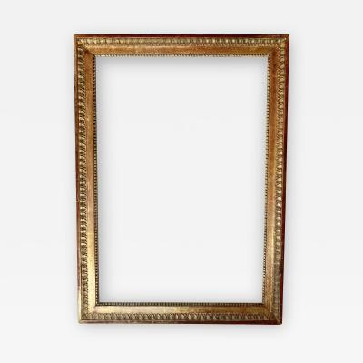 18th Century Gilded Wood Frame