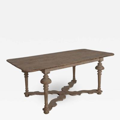 18th Century Italian Pine Painted Table