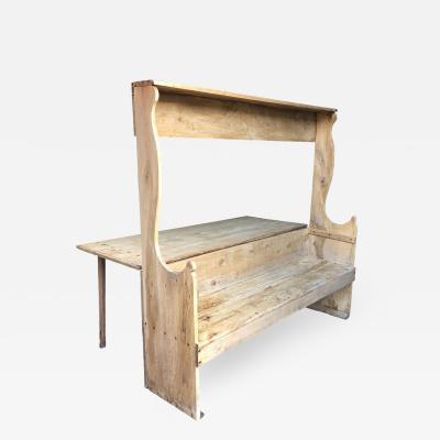 18th Century Italian Table Bench