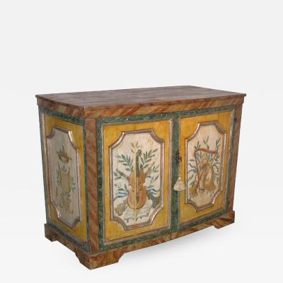 18th Century Painted Credenza
