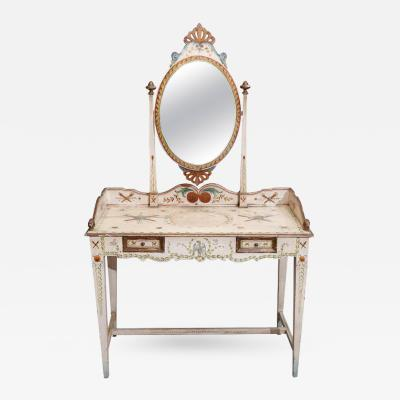 18th Century Painted Venetian Dressing Table
