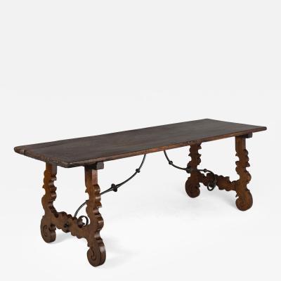 18th Century Spanish Baroque Table