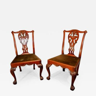 18th Century Walnut Side Chairs
