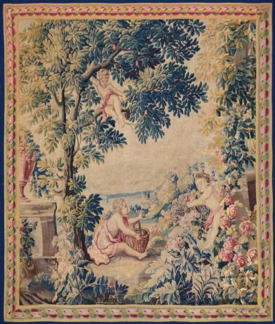 18th Century antique tapestry from Lille France