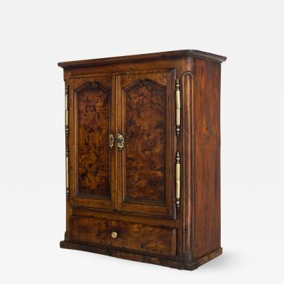 18th c French Miniature Armoire