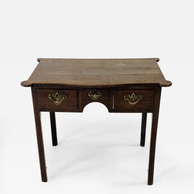 18th c William Mary Oak Side Table