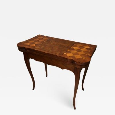 18th century Baroque Game Table