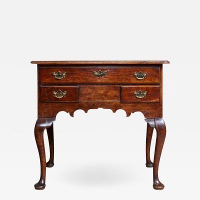 18th century English Oak Lowboy