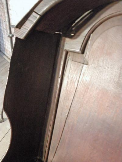18th century English Oak Porter or Rocking Chair