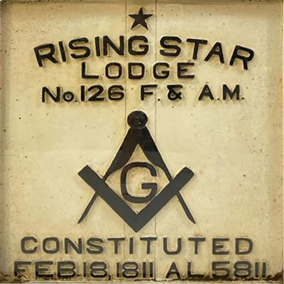 1900S MASONIC LODGE SIGN