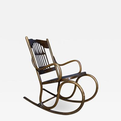 1902 Jacob Josef Kohn No 816 Bentwood Rocking Chair Vienna