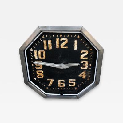 1920s American Neon Clock
