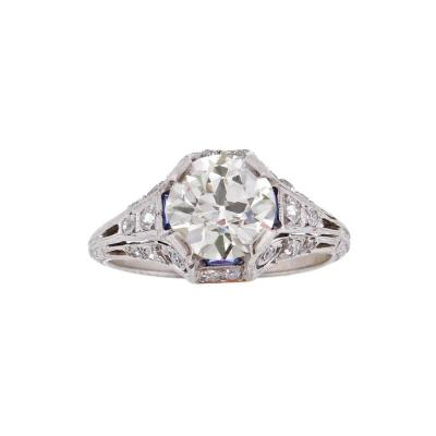 1920s Art Deco Diamond Engagement Ring
