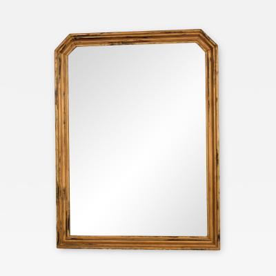 1920s Gilded Mirror in Original Condition