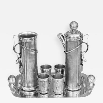 1926 Derby Golf Bag Cocktail Shaker Set