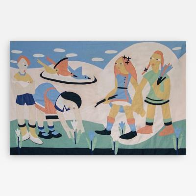 1930 s Modernist Child s Quilt