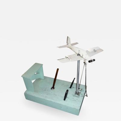 1930s Mechanical Flight Simulator