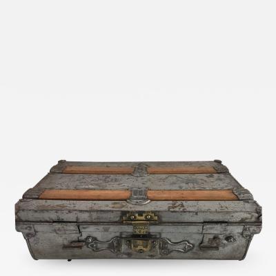 1930s Metal Suitcase