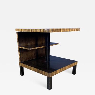 1930s Swedish Art Deco Smoking Table Multiple Veneer