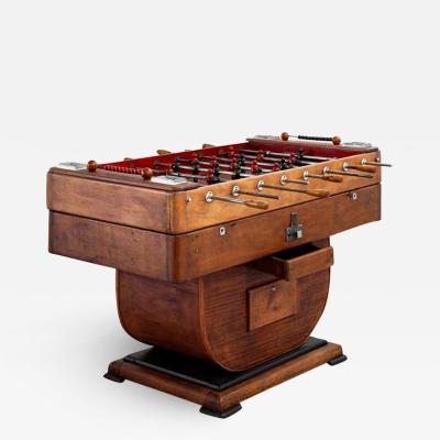 1940S EUROPEAN FOOSBALL TABLE