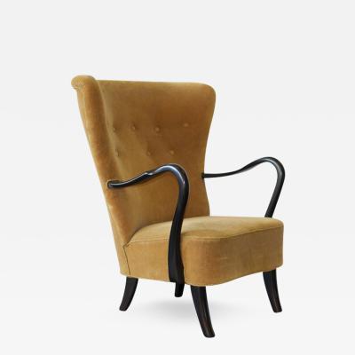 1940s Danish Lounge Chair
