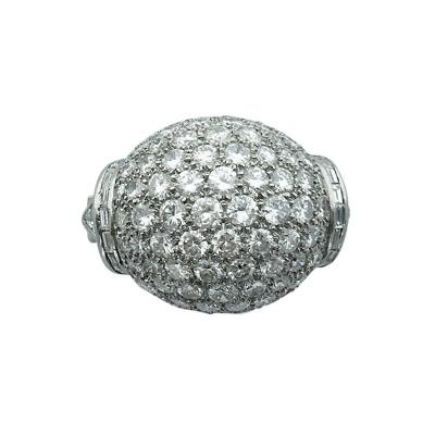 1940s Diamond Platinum Ring