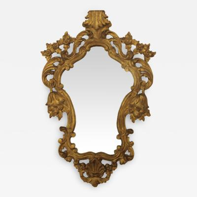 1940s French Gilded Mirror