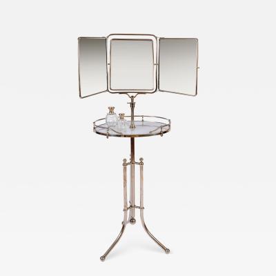 1940s Italian gentlemans vanity dressing stand