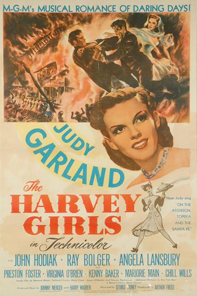 1946s Movie Poster Of THE HARVEY GIRLS