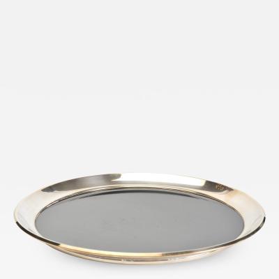 1950s American circular tray