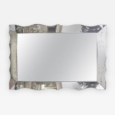 1950s American rectangular mirror