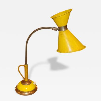 1950s Desk lamp in the style of Mathieu Mategot