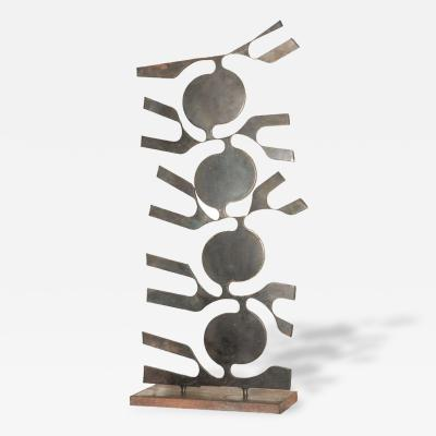 1950s Freeform Iron Sculpture