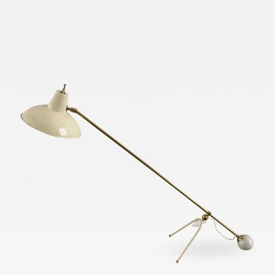 1950s Large Adjustable Table Lamp