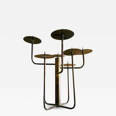 1950s Organic Modernist Studio Candelabra