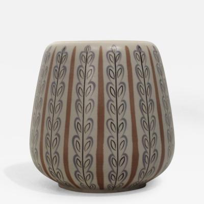 1950s Poole Pottery Free Form Vase