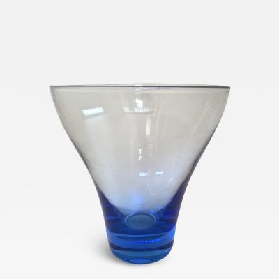 1950s Scandinavian glass vase