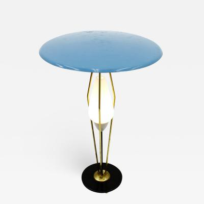 1950s Table Lamp in Style of Angelo Lelli Italy