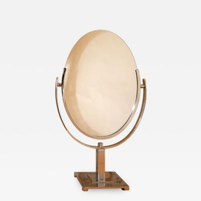 1950s US oval table mirror