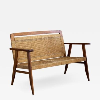 1960S DANISH ROPE BENCH