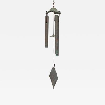 1960s Bronze Wind Chime