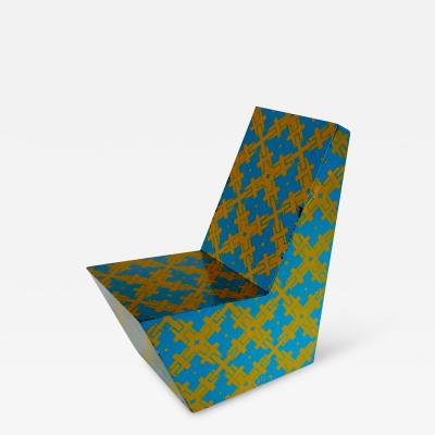 1960s Graphic Print Chair