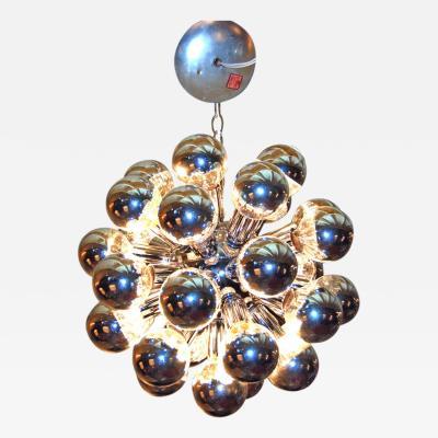 1960s Italian Sputnik Chandelier with 32 Lights