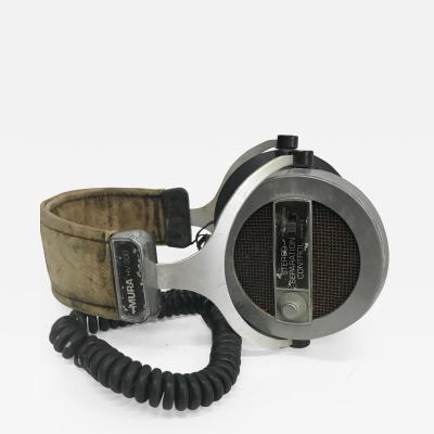 1960s Mod Stereo Headphones MURA HV 300 Separation Control Vintage JAPAN
