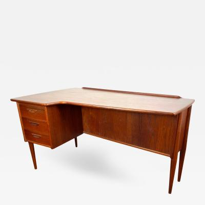1960s Scandinavian Goran Strand Teak Desk