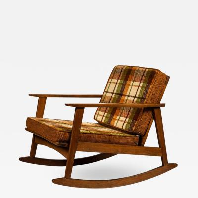 1960s Scandinavian Rocking Chair